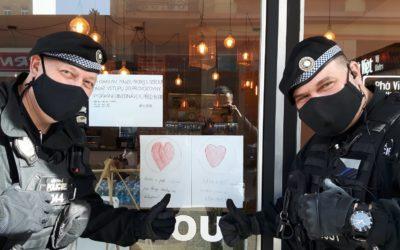 Pomoc policistům v Liberci